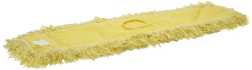 Rubbermaid Commercial Twisted Loop Blend Dust Mop, 60-Inch Length x 5-Inch Width, Yellow (FGJ25800YL00)