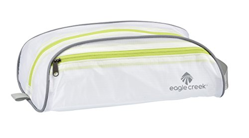 - Eagle Creek Pack It Quick Trip Toiletry Bag, White/Strobe