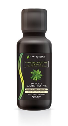 Food Science of Vermont Liposomal Liquid Prostate Support Supplement, 7.61 Fluid Ounce