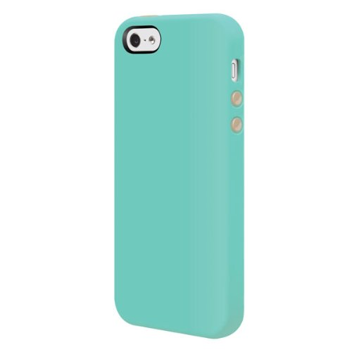 Case Silicone Switcheasy (SwitchEasy SW-COL5-MT Colors Slim Case for iPhone SE, iPhone 5 and iPhone 5s - Mint)