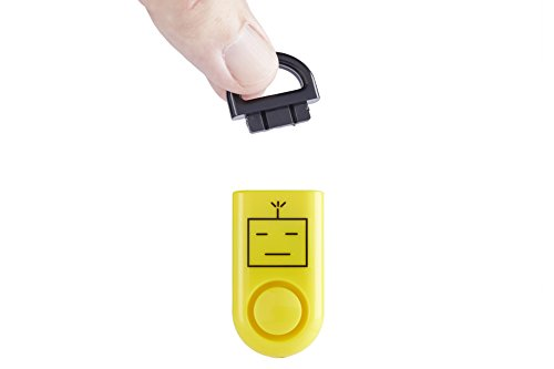 Original Sound Grenade, Emergency Personal Alarm, Battery Included, Carabiner Included, Yellow