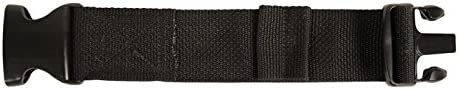 Mustang Survival Corp 2IN BUCKLE Belt Extender 黒, 黒 by Mustang Survival