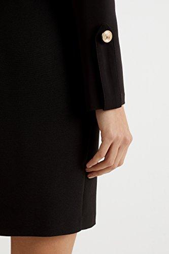 Lipsy Tipo Mujers De Larga Manga Vestido Negro Esmoquin 4q4wOBHr