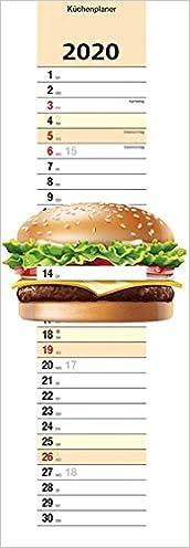 Télécharger des livres Küchenplaner Burger 2020: in Burgerform