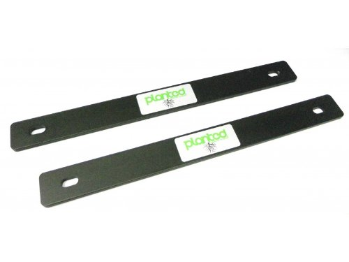 Planted Seat Spacer - 1/4 inch Thick - Black Powder Coated Aluminum - Part # ()