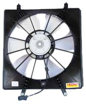 TYC 600410 Honda Odyssey Replacement Radiator Cooling Fan Assembly (System Honda Cooling)