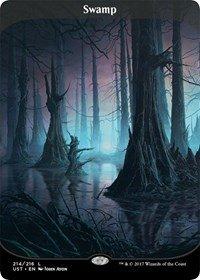 Swamp Foil (Swamp - Foil - Unstable)