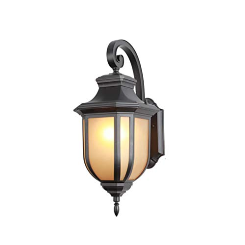 LIZHIQIANG Vintage Wall Light, Industrial Wall Lamp, Retro Wall Sconce,American Simple Outdoor Wall Lamp Waterproof Garden Light Balcony Light Terrace Light Pure Aluminum