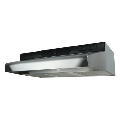 Air-King-ESDQ1248-Energy-Star-Qualified-24-Inch-Under-Cabinet-Range-Hood-with-3-Speed-Blower-and-270-CFM-Stainless-Steel-Finish