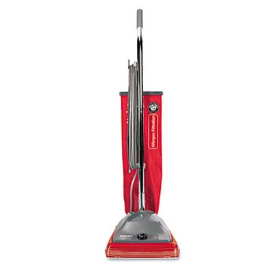 (Electrolux Sanitaire - Commercial Standard Upright Vacuum, 19.8lb, Red/Gray SC688A (DMi EA)