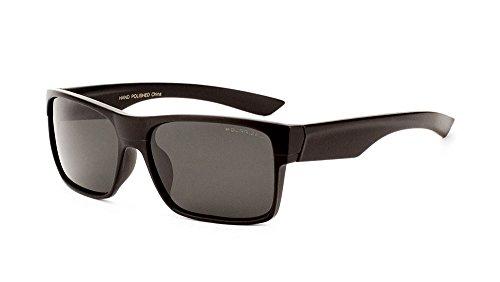 Men Square Polarized Sunglasses Dark Sport Active Lifestyle Designer Inspired (Black, - Sunglases Cheap