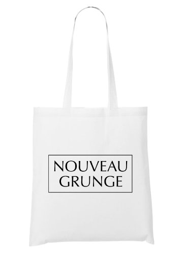 Nouveau Grunge Bag White