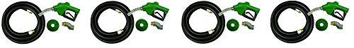 Apache 99000277 1'' Diesel Automatic Fuel Nozzle Kit (4-(Pack))