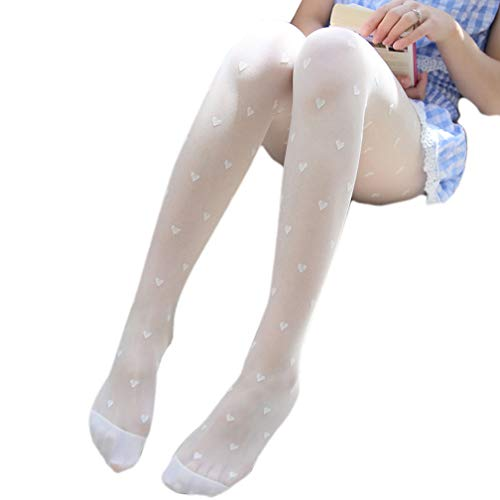 (Sexy Lace Leggings for Women Floral Stockings Control Top Tight Summer Pantyhose)