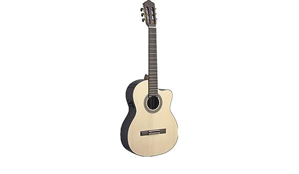 Ángel López SAU-CFI S Electro-Acústica Guitarra Clásica mit ...