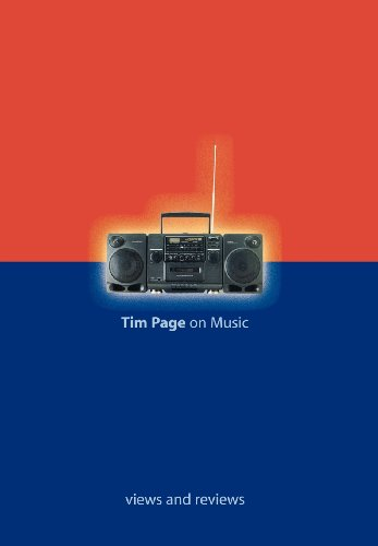 Tim Page On Music Views And Reviews (Hardcover)