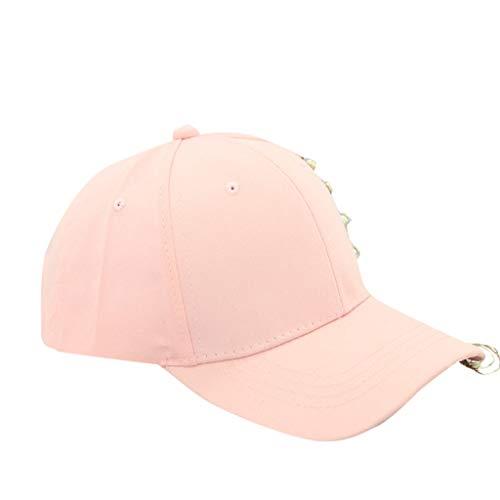 (Dressin Rings Baseball Cap for Women Men Hip Hop Boys Casual Adjustable Trucker Hat Sun Hats)