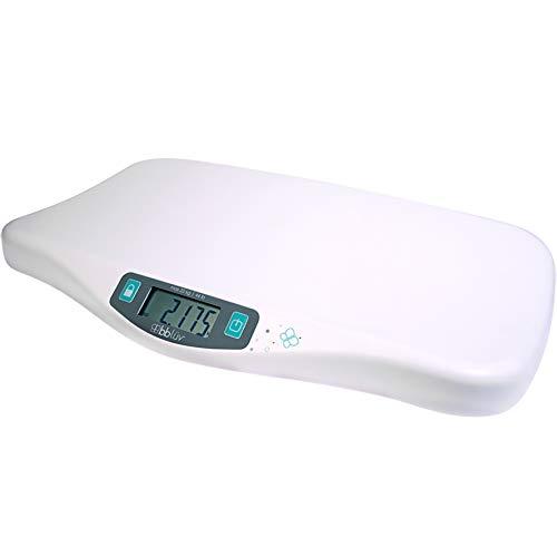 bblüv - Kilö - Precise Digital Baby Scale for Infants up to 44 lbs