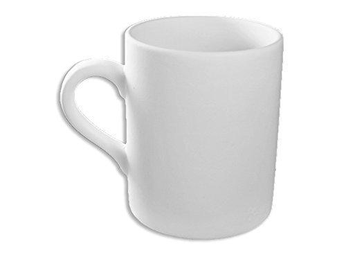 Journey Ceramic Mug - The Perfect Mug - Set of 4 - Paint Your Own Ceramic - Unfinished Low-Fire Ceramic Bisque - Paint-a-Potamus