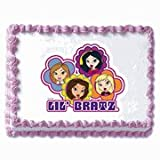 Lil Bratz Birthday Cake Edible Image