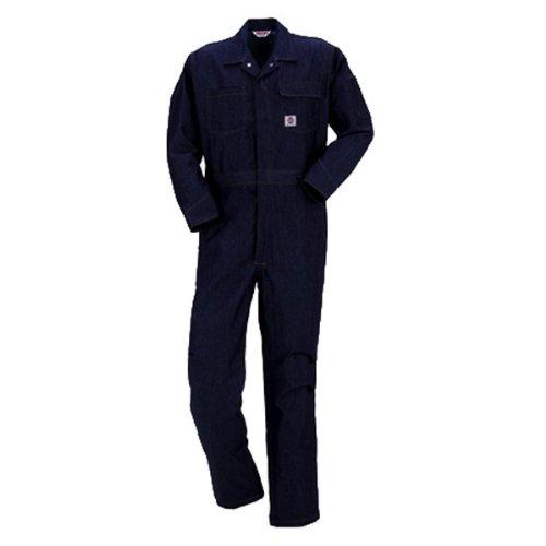 PERSON'S (パーソンズ)長袖つなぎ ツナギ おしゃれアメリカンスタイル デニムyt-p019 B01N4U6FPW LL|インディゴ インディゴ LL
