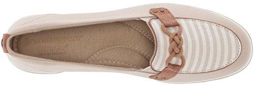 Grasshoppers Mujeres Windham Stripe Sneaker Stone