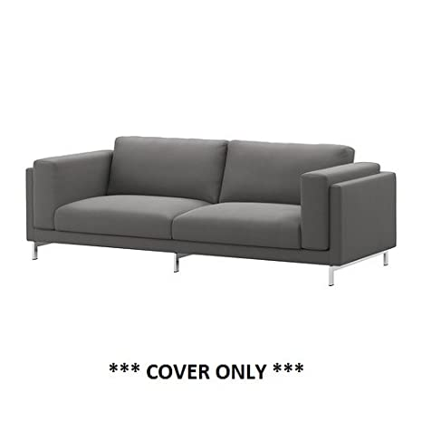 Amazon.com: IKEA nockeby – Slipcover para sofá de 3 plazas ...