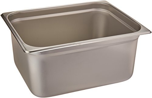 Winco SPJL-206 Anti-Jamming Steam Pan, Half-Size x 6-Inch, Standard Weight