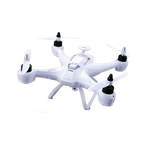 Ikevan X181 5.8G FPV 2MP Camera Drone RC Quadcopter Headless One-key Return Helicopter (White) by Ikevan