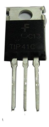TIP41C TIP41 NPN Audio Power Amplifier Transistor 100V 6A 1 Pack Amplifier Power Transistors