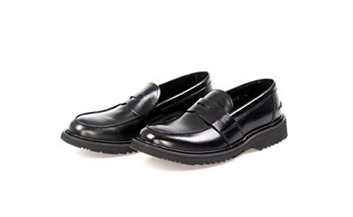 Prada Menns 2dg013 Skinn Loafers