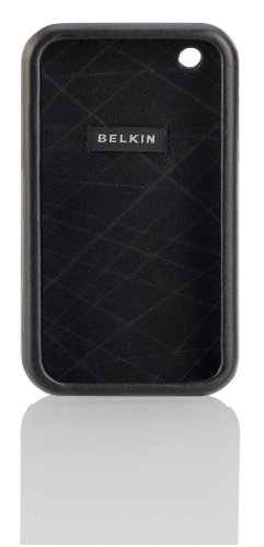 (Belkin Leather Laminate Case for iPhone 3G, 3G S (Black) )
