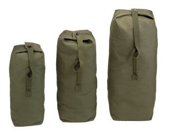 Rothco Top Load Canvas Duffle, 21' x 36', Olive Drab