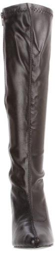 Black Women's Stretch 2000 Knee PU Boot Seduce Pleaser High nSZqdwYYv