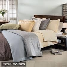 Vera Wang Couette Tres Grand Lit King Duvet Cover Cotton Linen