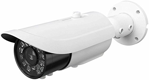 HDView 5MP IP Camera Starlight WDR Motorized Lens HD Megapixel Network PoE, Audio in/Out, Alarm in/Out, MicroSD Memory, IR Infrared Bullet ONVIF, VCA Intelligent Analytics Review
