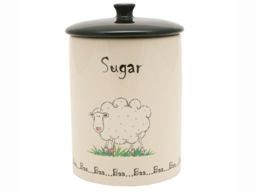 Price and Kensington Home Farm Sugar Jar, Ceramic, Multi-Colour, 0057.062