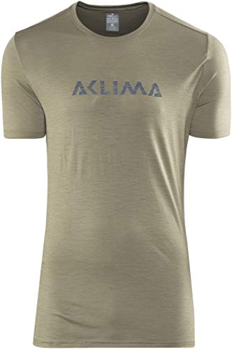 Manches Green Logo Courtes shirt 2019 Tshirt Ranger Homme Lightwool Aclima T Olive wqFSI5P