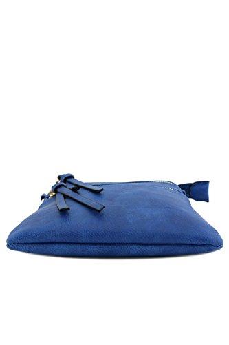 Bag Functional Multi Blue Pocket Crossbody Royal HqxZHfw61P