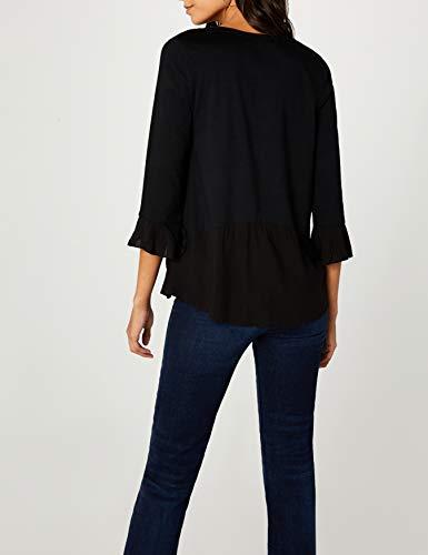 da nera Desigual shirt masi 2000 negro T Ts donna Sq4WFw