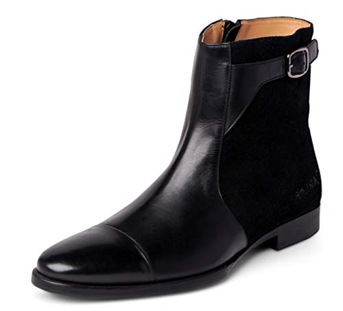 65c2633138b Carlos Santana Spirit Men's Designer Jodhpur Chelsea Boots for Style ...