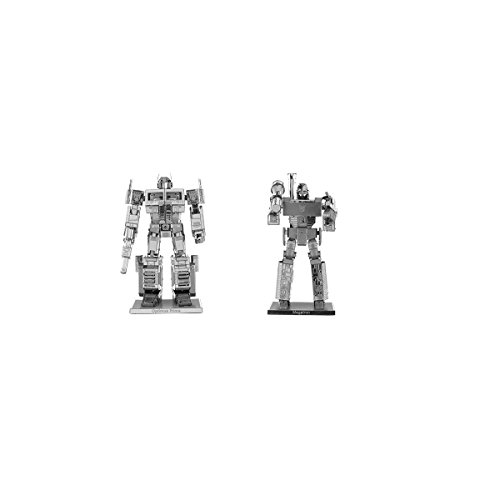 (Fascinations Metal Earth 3D Model Kits - Transformers Set of 2: Megatron & Optimus Prime)