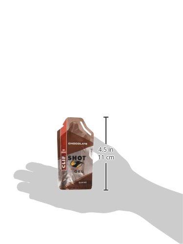 Clif Shot Gel Chocolate, 24 - 1.2 oz packets,  28.8 oz.