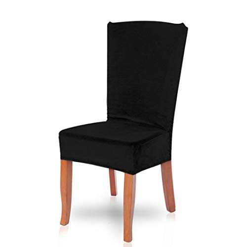 Drew Toby Dining Chair Covers Soild Color Soft Removable Stretch Restaurant Elastic Slipcover Wedding Party Seat Cover