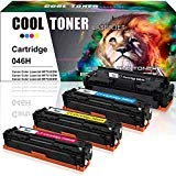 Cool Toner Compatible Toner Cartridge Replacement for Canon 046 046H MF733cdw Toner Canon ImageClass MF731cdw MF733cdw MF735cdw LBP654cdw MF733cdw (Black Cyan Magenta Yellow, 4PK) Larger Image