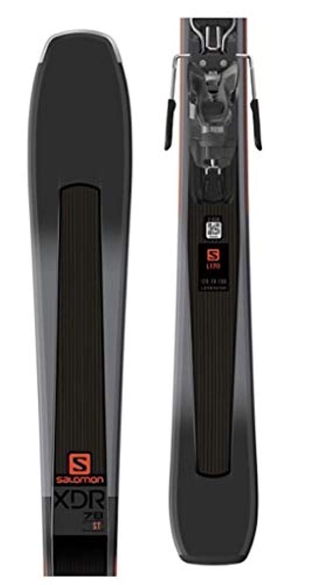 [해외] SALOMON E XDR 78 ST 블랙/오렌지 170 CM