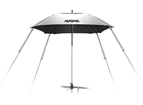 Magma Products, B10-403 Cockpit 100-Percent UV Block Reflective Umbrella, Silver (Shade Hydra)