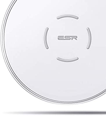 ESR Cargador Inalámbrico, 7.5W Carga Rápida para iPhone 11/11 Pro ...