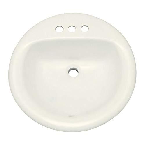 Drop In Bathroom Sink Biscuit - PROFLO PF194RBS 19