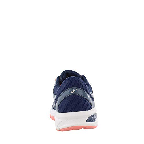 ASICS GT-1000 6 GS Kid's Running Shoe. Smoke Blue/Indigo Blue/Begonia Pink, 6 M US Big Kid by ASICS (Image #4)
